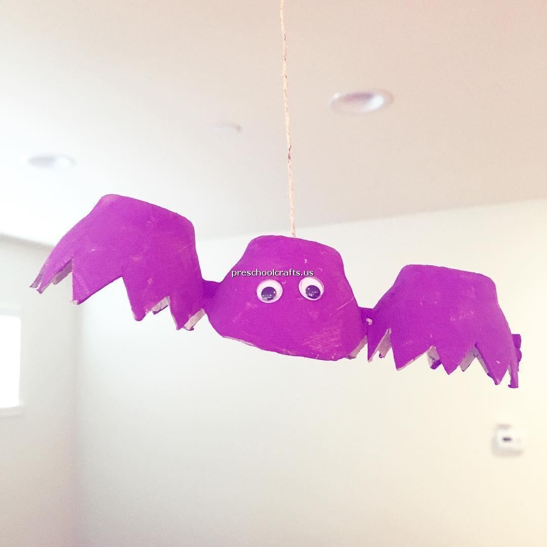 Bat Crafts Ideas for Preschool
