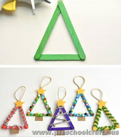 Christmas craft ideas for kindergarten preschool crafts for Christmas crafts for pre schoolers