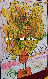 hair-crafts-idea-for-kindergarten