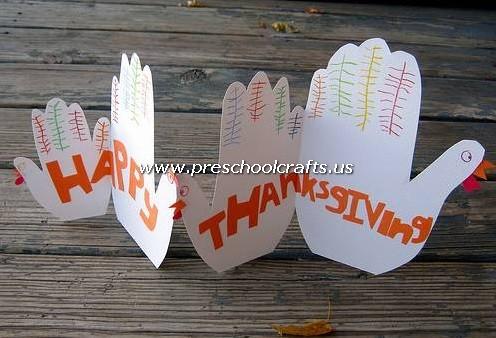 Happy Thanksgiving Craft Ideas For Preschool