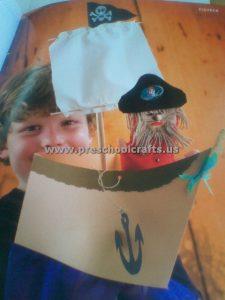 pirate-puppet-crafts-idea-for-kindergarten