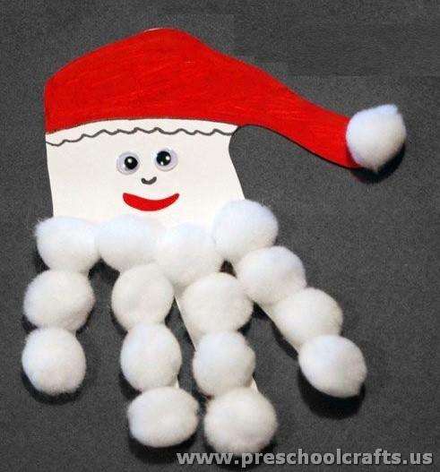 santa claus craft ideas - Santa Claus Craft