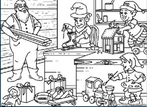 Christmas Coloring Pages For Kids Preschool And Kindergarten Ornaments To Color For Primary