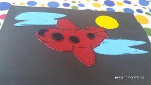 airplane craft ideas for preschool vehicles craft