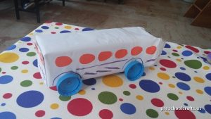 bus craft ideas for kids vehicles crafts