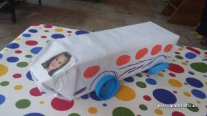 bus craft ideas for preschool vehicles crafts