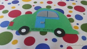 car craft ideas for kinder garten