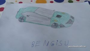 car craft ideas for pre-school vehicles crafts