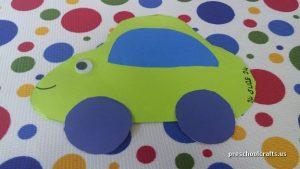 car craft ideas for preschool
