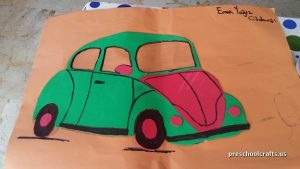 car craft ideas for preschool vehicles