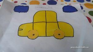 car craft ideas for preschool vehicles crafts