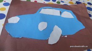 car crafts ideas for preschool
