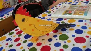 chicken craft ideas for kindergarten