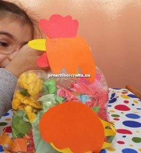 chicken craft ideas kindergarten
