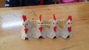 chicken crafts for kindergarten