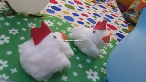 chicken crafts idea for preschoolers