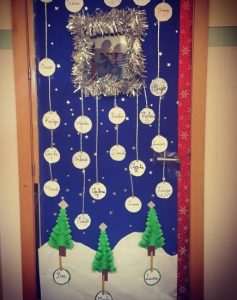 Christmas Door Ideas For Preschool Preschool And Kindergarten