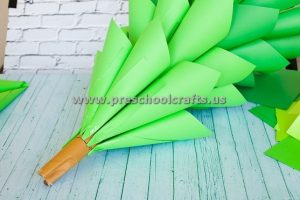 christmas-paper-cone-tree