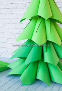 christmas-paper-cone-tree-ideas-for-kids