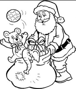 free printable christmas colouring pages for kindergarten