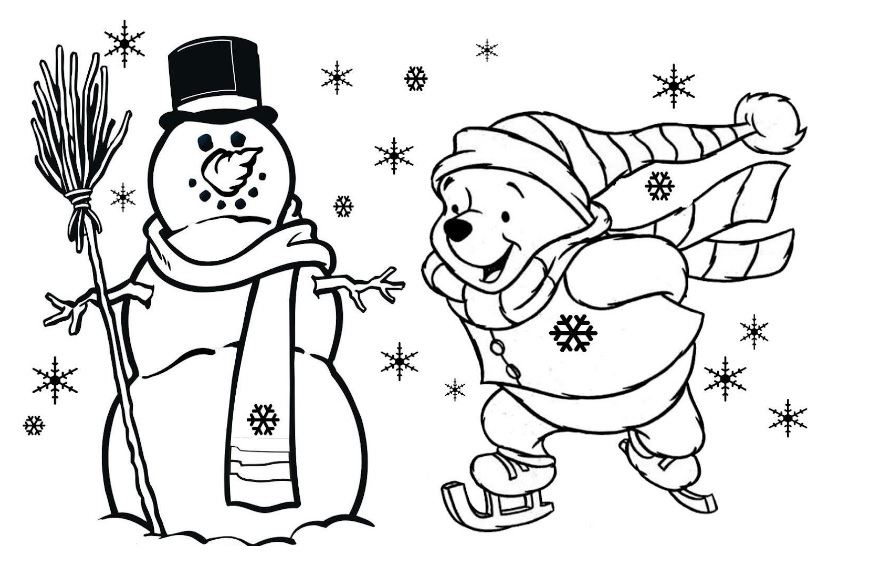 free-printable-snowman-coloring-pages-for-preschool ...