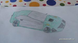 preschool car crafts