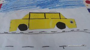 preschool car crafts idea