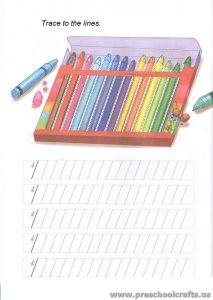 preschool line tracing worksheets