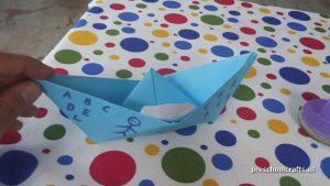 preschool ship crafts idea