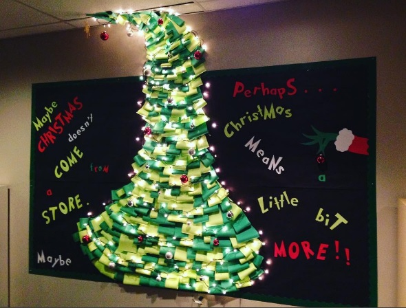 Christmas Bulletin Board Ideas