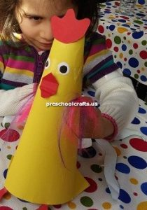 preschoolers chicken craft ideas