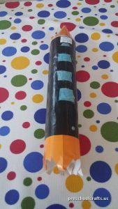 rocket craft ideas for preschool vehicles