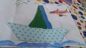 sailbot craft ideas for pre-school vehicles crafts