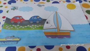 sailbot craft ideas for preschool vehicles crafts