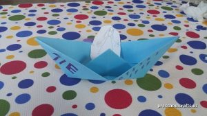 ship craft ideas for kindergarten vehicles crafts