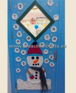 snowman-classroom-door