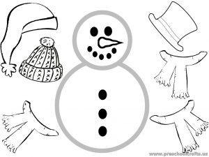 snowman patterns for kids