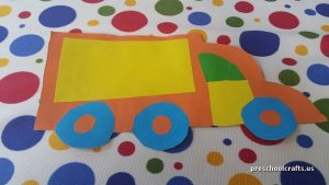 truck craft ideas for kindergarten