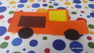 truck craft ideas for preschool vehicles crafts