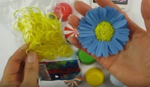 Flower Craft Making for Kindergarten