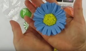 Flower Craft Making for toddler