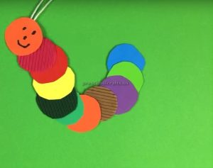 How To Make A Caterpillar Firstgrade Craft Ideas