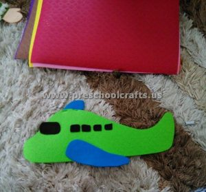 airplane craft activity for kids