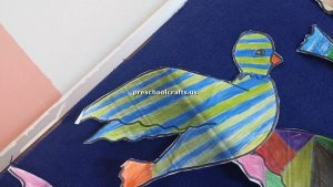 bird craft idea for preschool