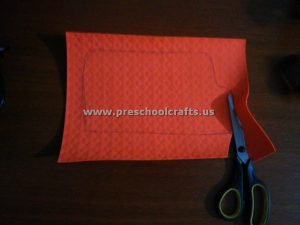 bus craft idea for preschool