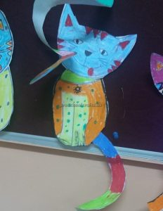 cat craft for preschoolers