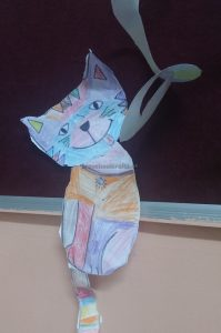 cat craft idea for preschoolers