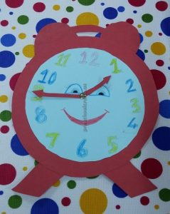 clock craft ideas for firstgrade