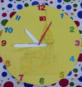 clock craft ideas for kids