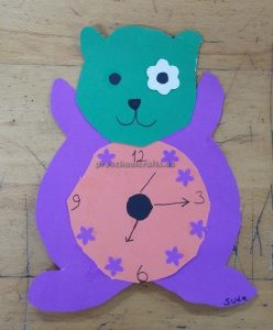 clock craft ideas for toddler
